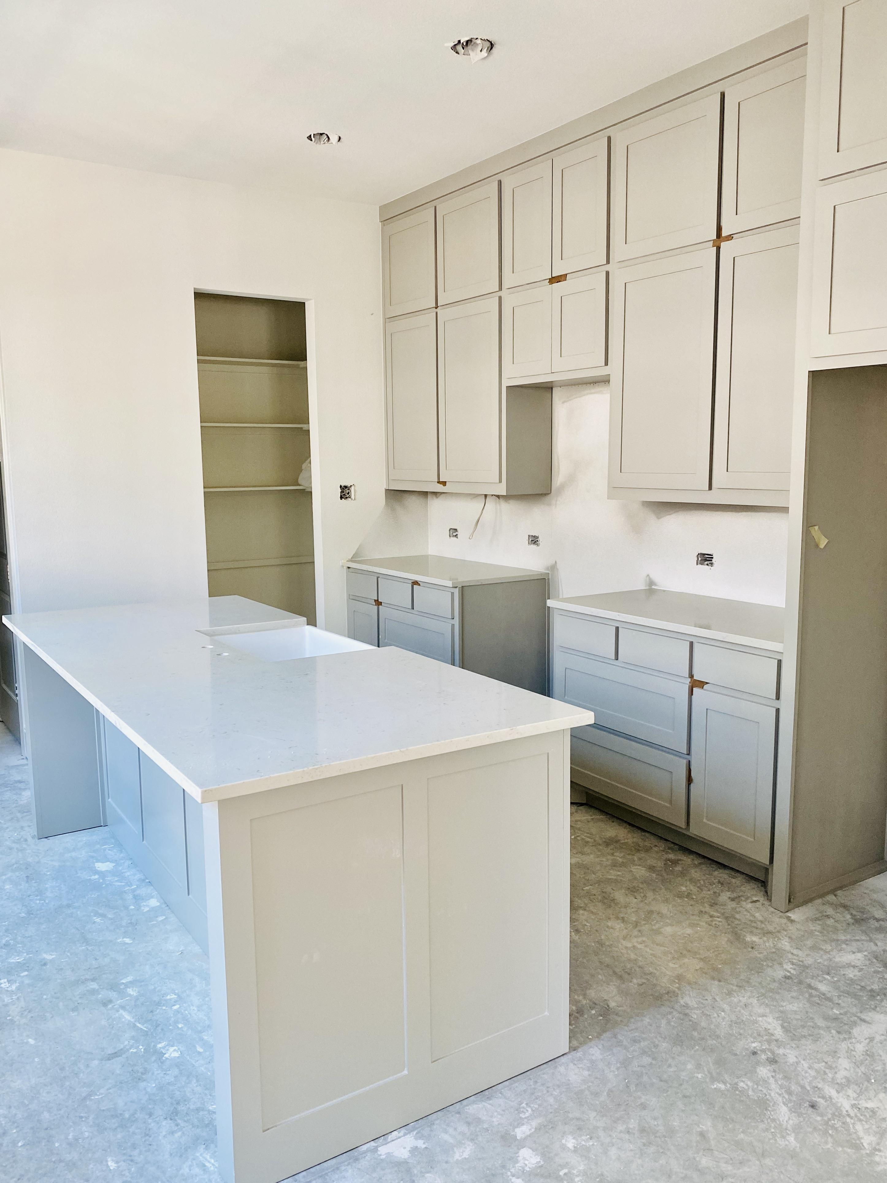 Kitchen featured in the Townhome By Hedgefield in Fort Worth, TX