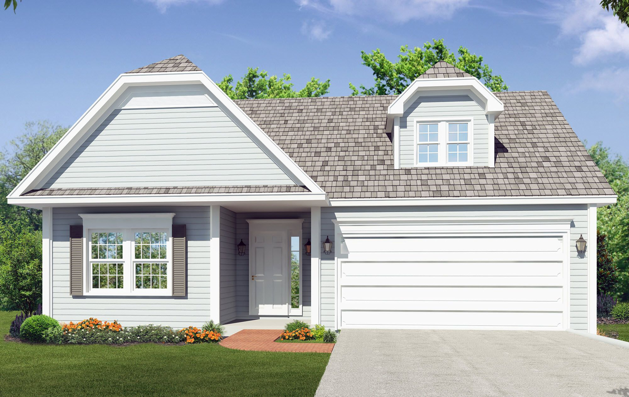 Exterior featured in the Beechwood- Phase 4 By Heritage Custom Builders in Albany-Saratoga, NY
