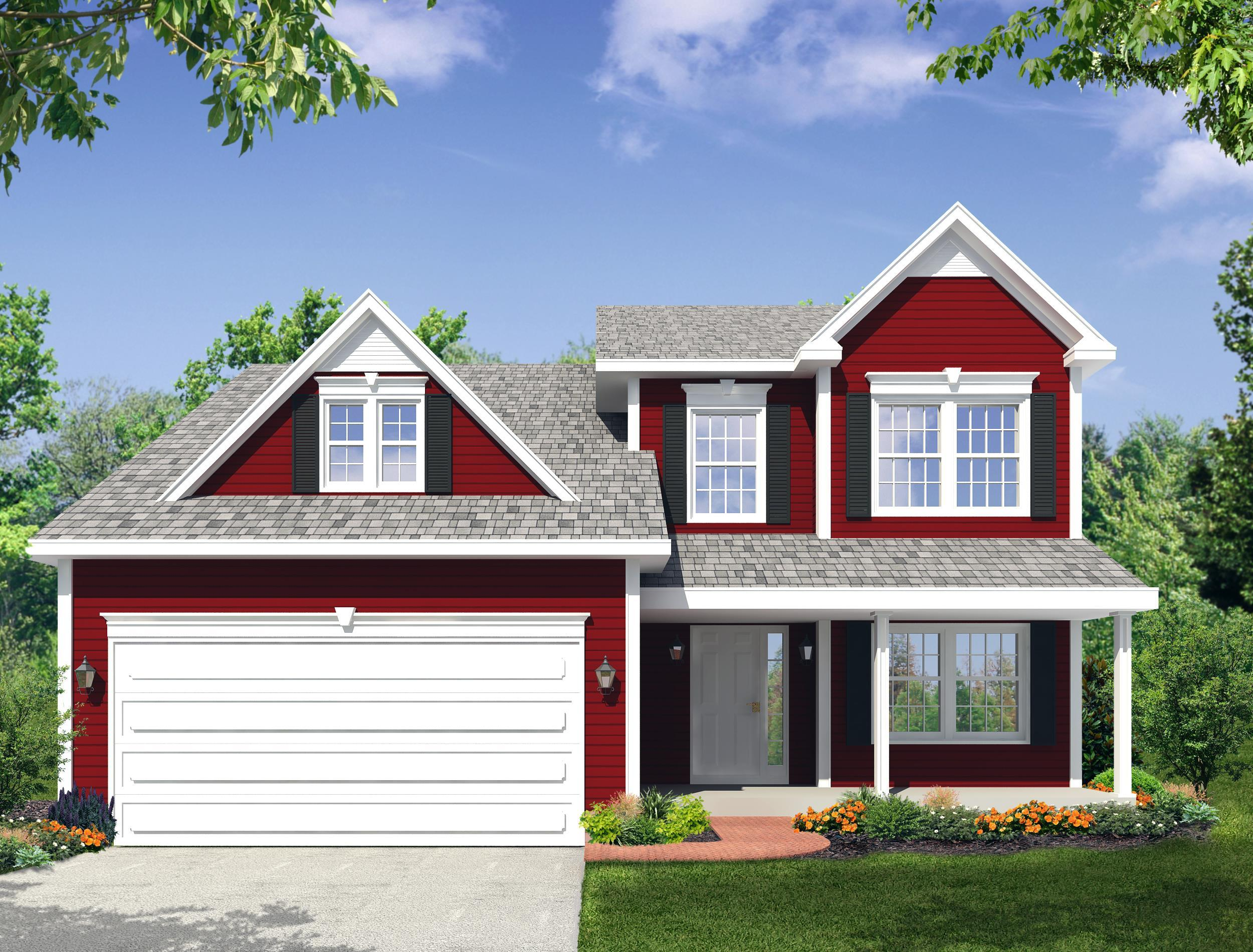 Exterior featured in the Tamarack SF - Phase 4 By Heritage Custom Builders in Albany-Saratoga, NY