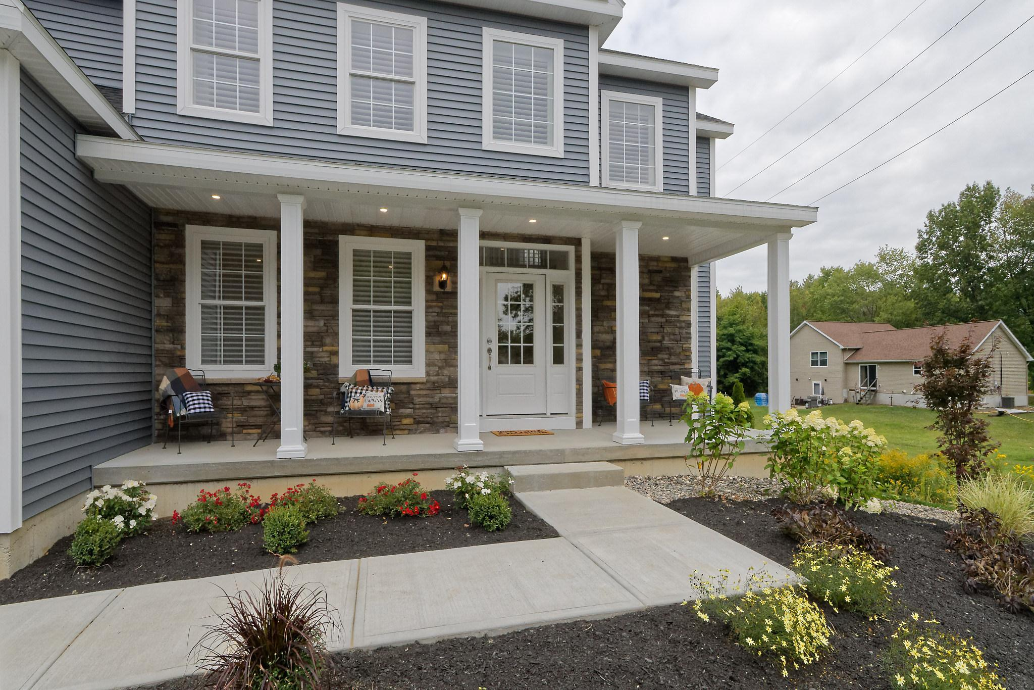 Exterior featured in the Royal Palm - Phase 4 By Heritage Custom Builders in Albany-Saratoga, NY