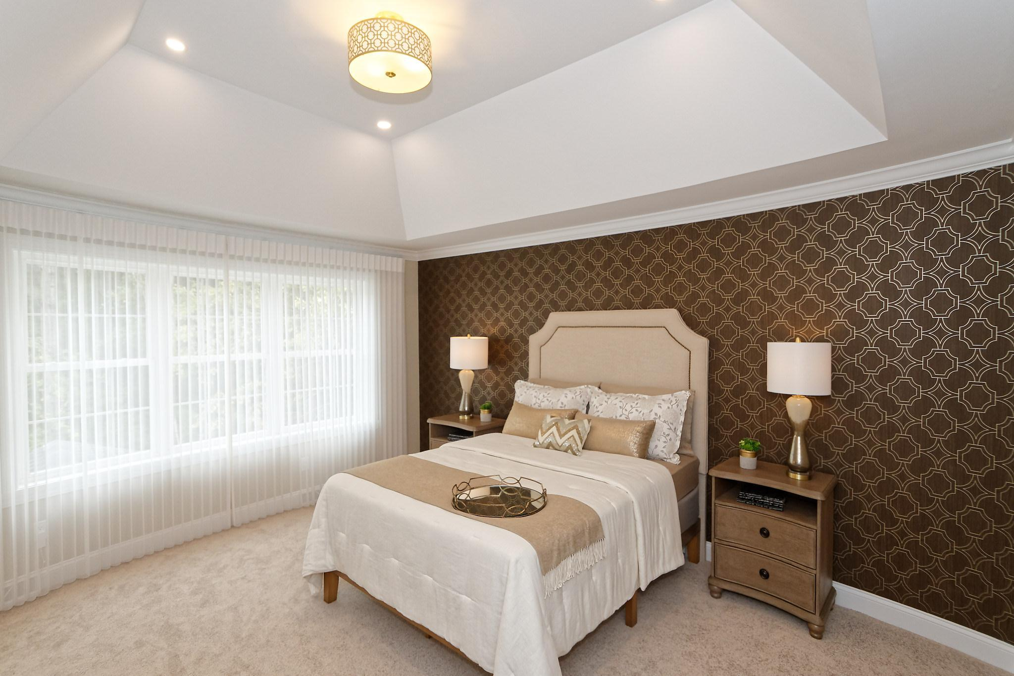 Bedroom featured in the Royal Palm - Phase 4 By Heritage Custom Builders in Albany-Saratoga, NY