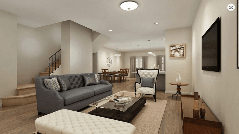 Living Area featured in The Liberty By Hexa Builders & Level 10 Dev. in Ocean County, NJ