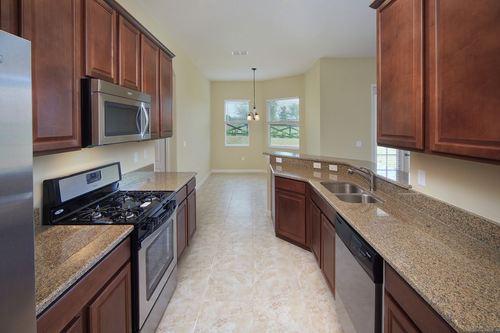 Kitchen-in-Chardonnay-at-Cherry Lake Oaks-in-Groveland