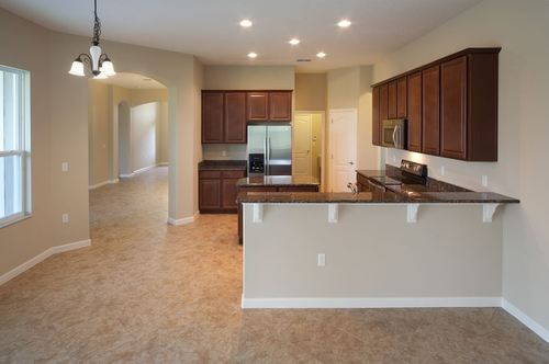 Kitchen-in-Bordeaux-at-Cherry Lake Oaks-in-Groveland