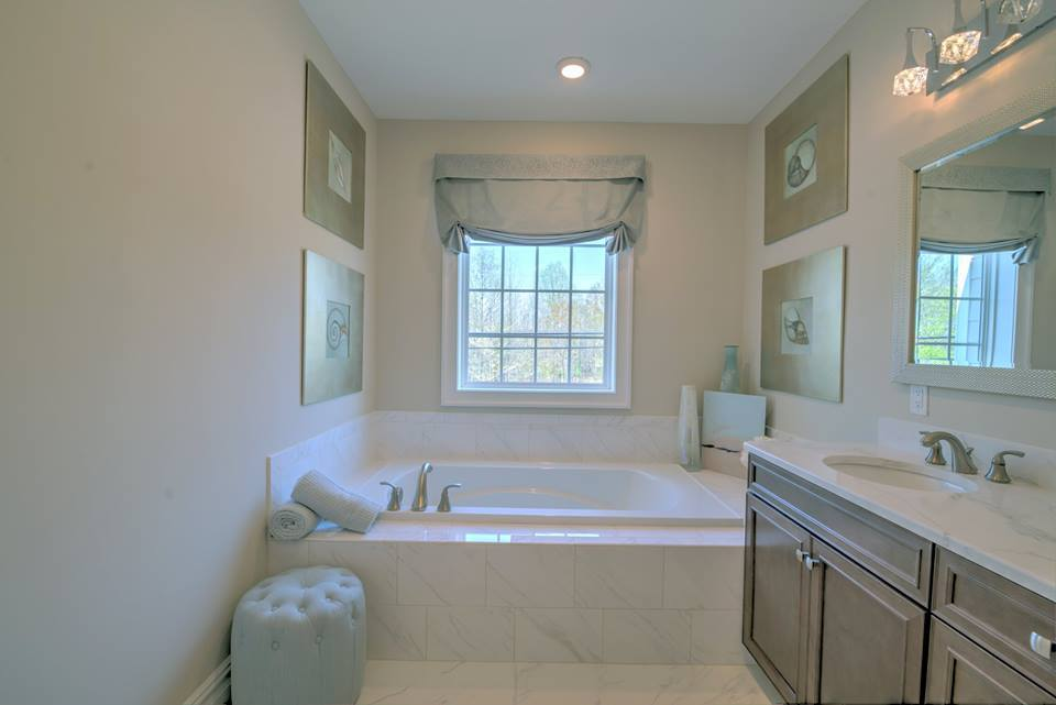 Bathroom featured in the Cranbury By High Point Development & RDG in Middlesex County, NJ