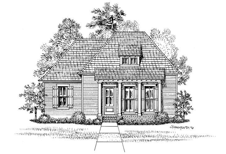 Front Elevation:The Glenhaven - Highland Homes