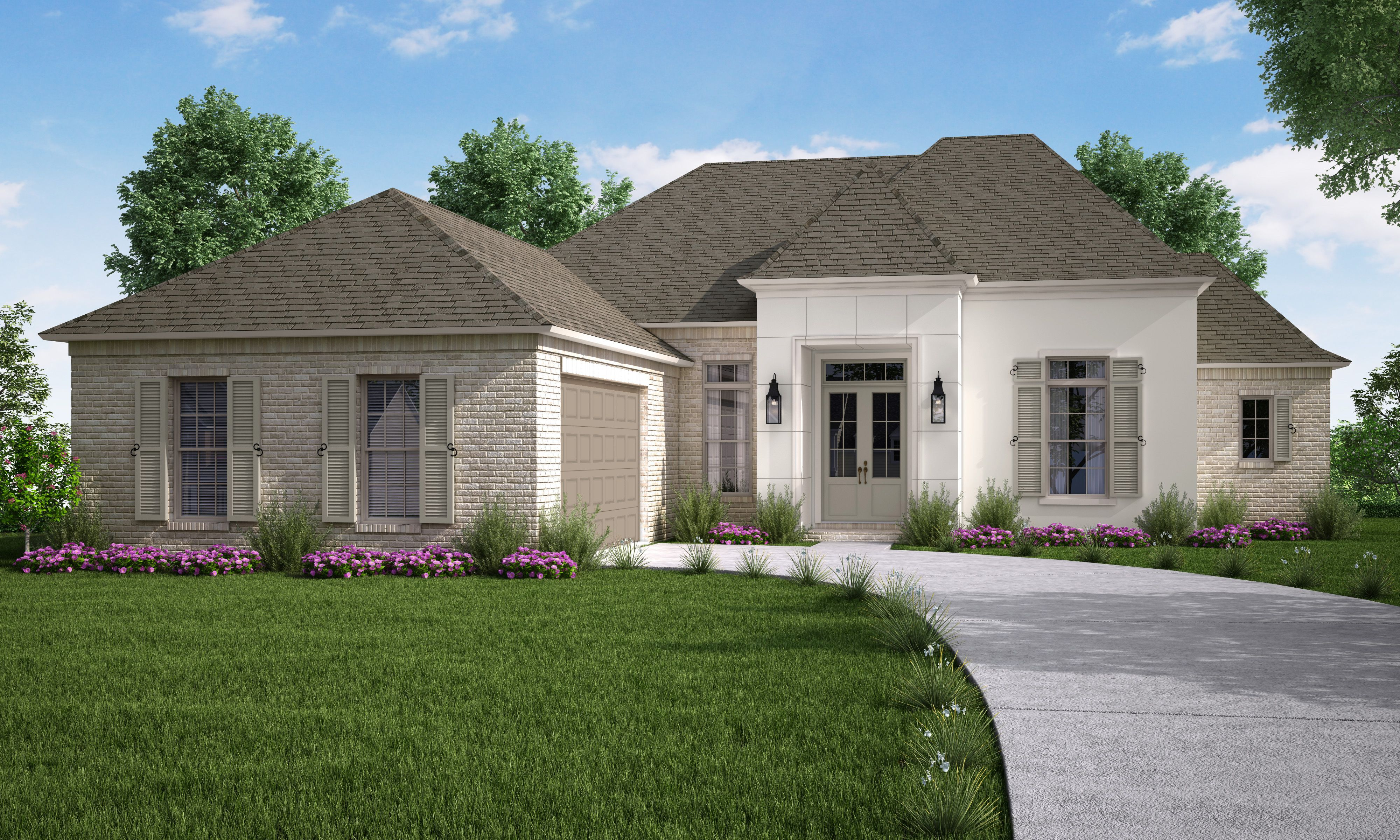 Exterior featured in the Adelaide By Highland Homes in New Orleans, LA