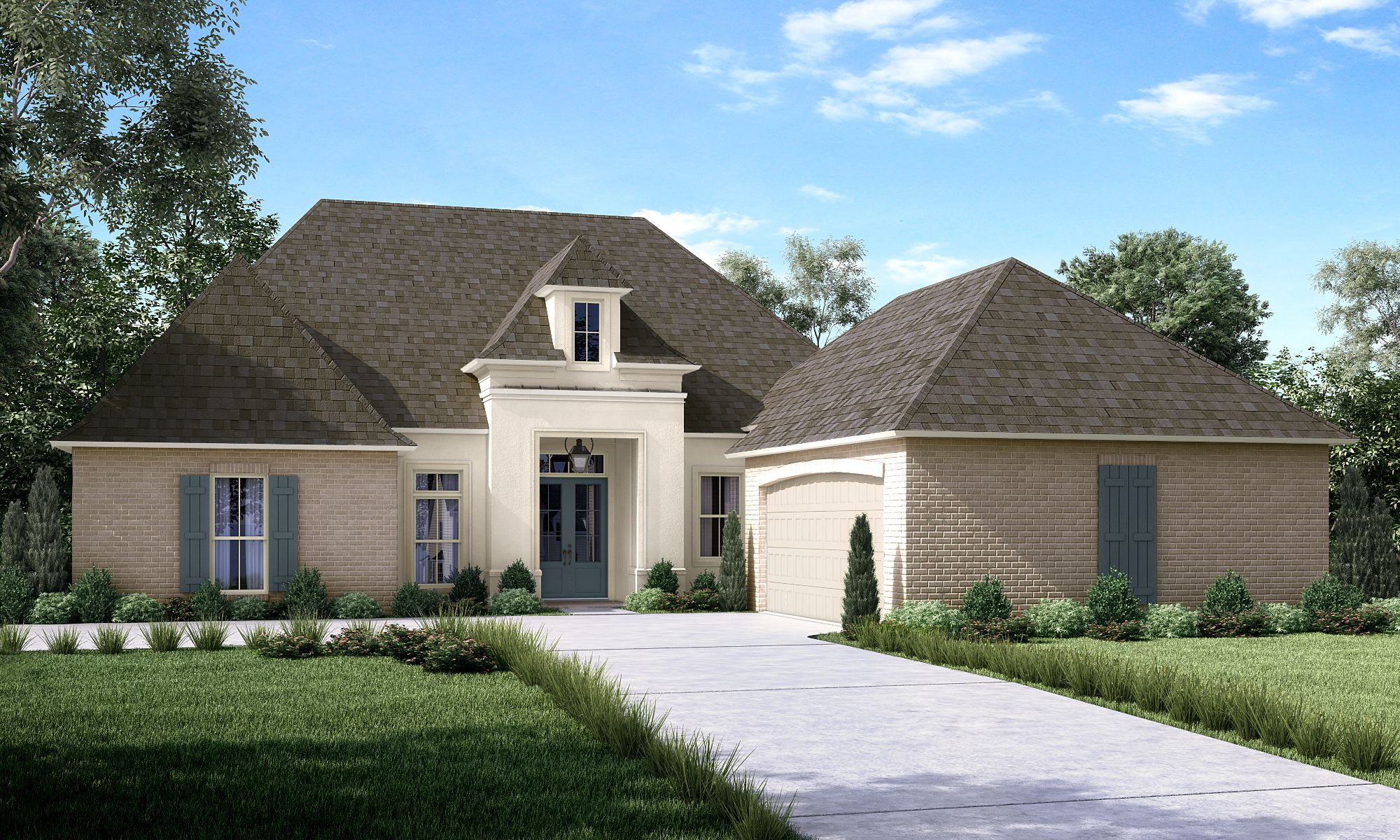 Exterior featured in the Beechwood By Highland Homes in New Orleans, LA