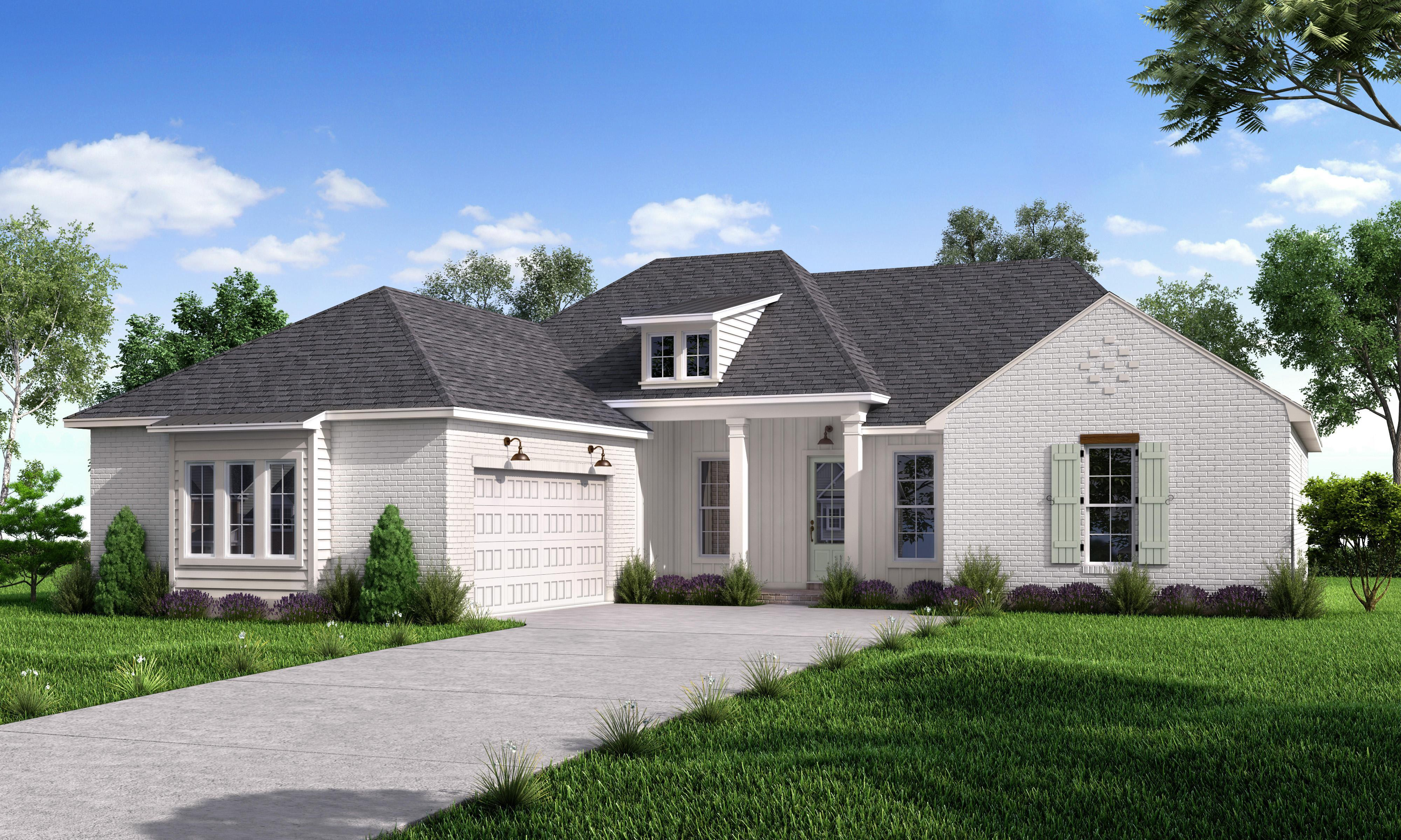 Exterior featured in the Madison By Highland Homes in New Orleans, LA