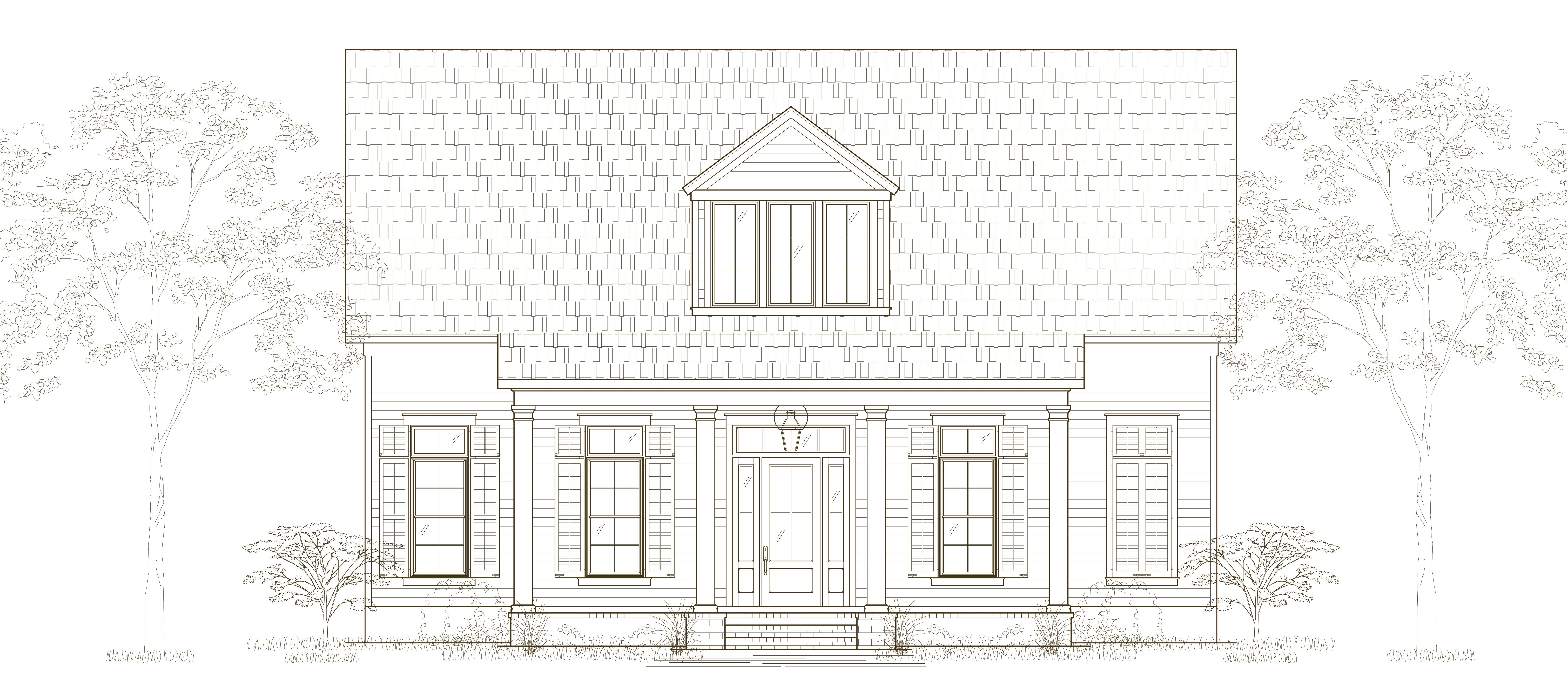 Exterior featured in the Villa By Highland Homes in New Orleans, LA