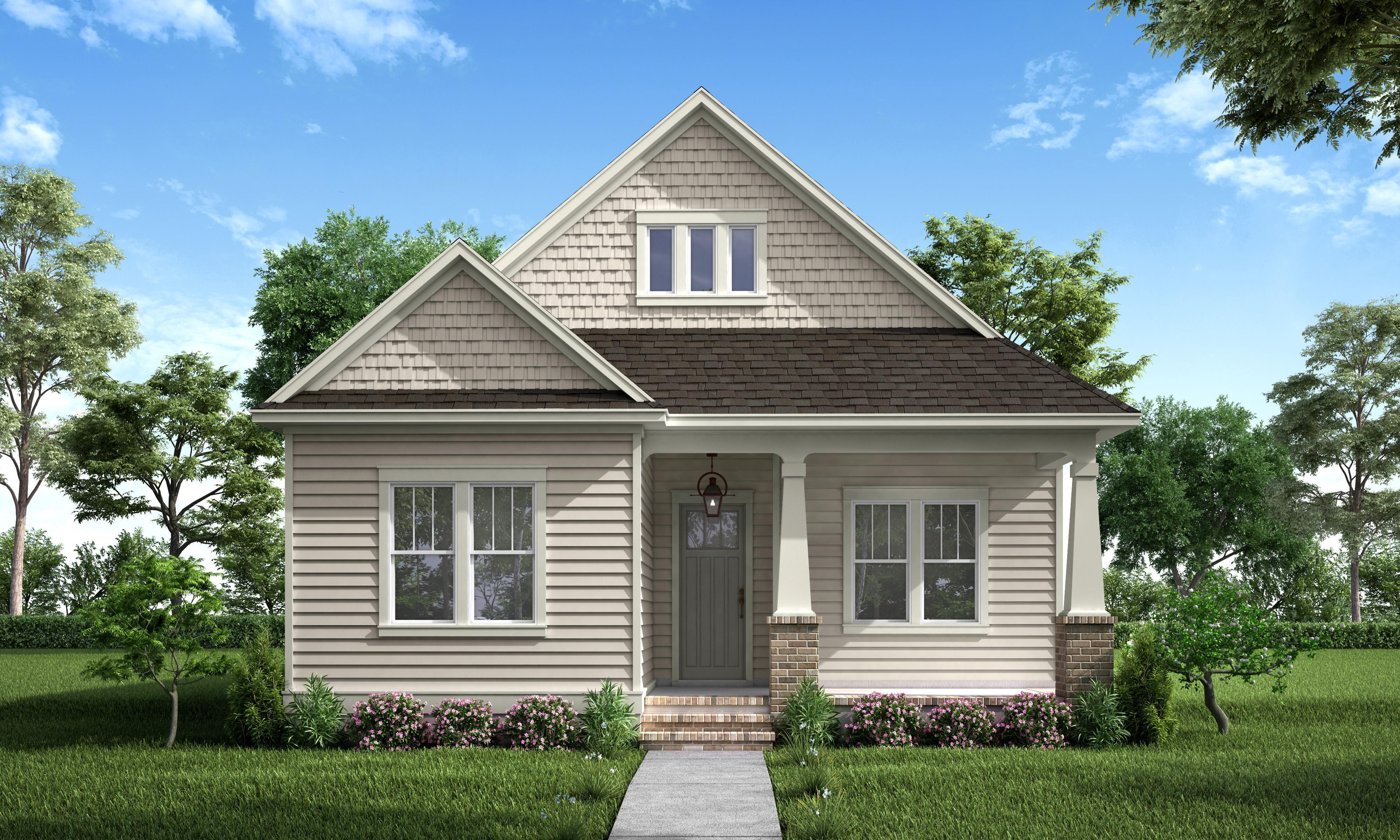 Exterior featured in the Juliette By Highland Homes in New Orleans, LA