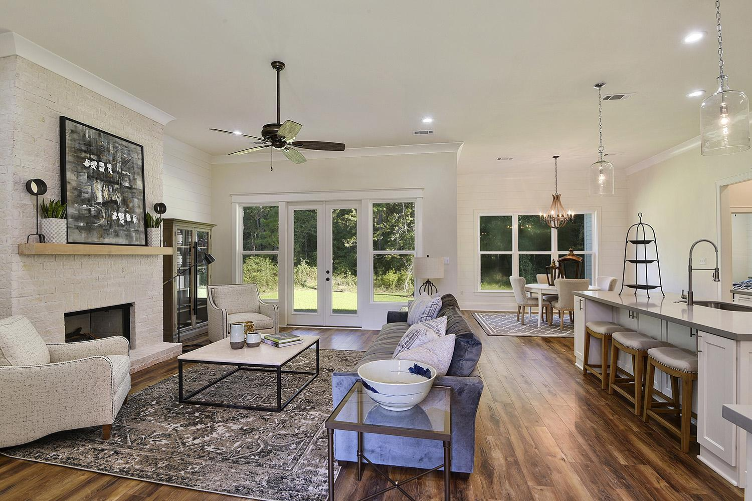 Living Area featured in the Cottonwood By Highland Homes in New Orleans, LA