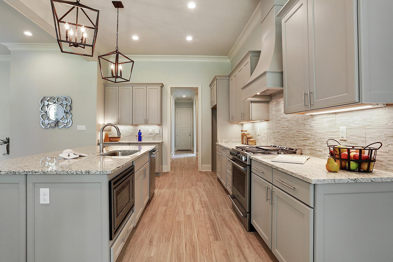 Kitchen featured in the Sandalwood By Highland Homes in New Orleans, LA