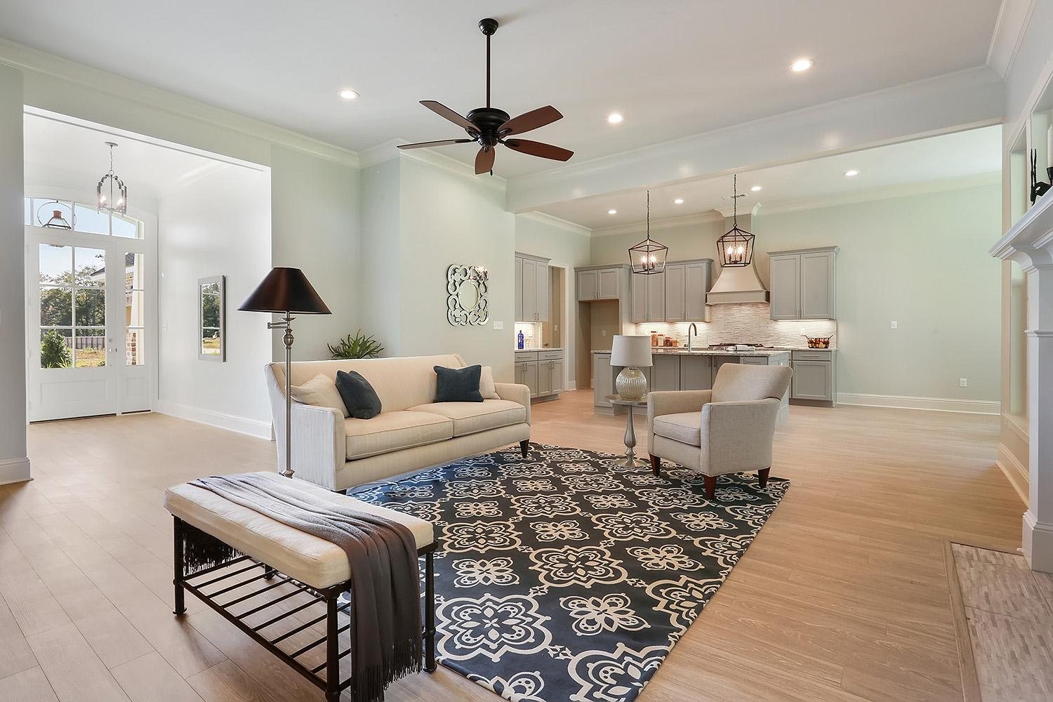 Living Area featured in the Sandalwood By Highland Homes in New Orleans, LA