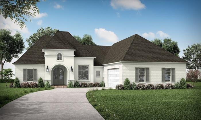 Exterior featured in the Danielle By Highland Homes in New Orleans, LA