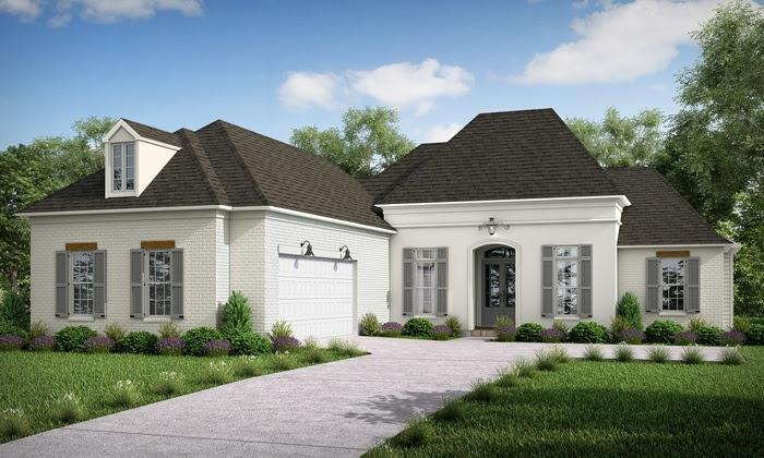 Exterior featured in the Julianne By Highland Homes in New Orleans, LA