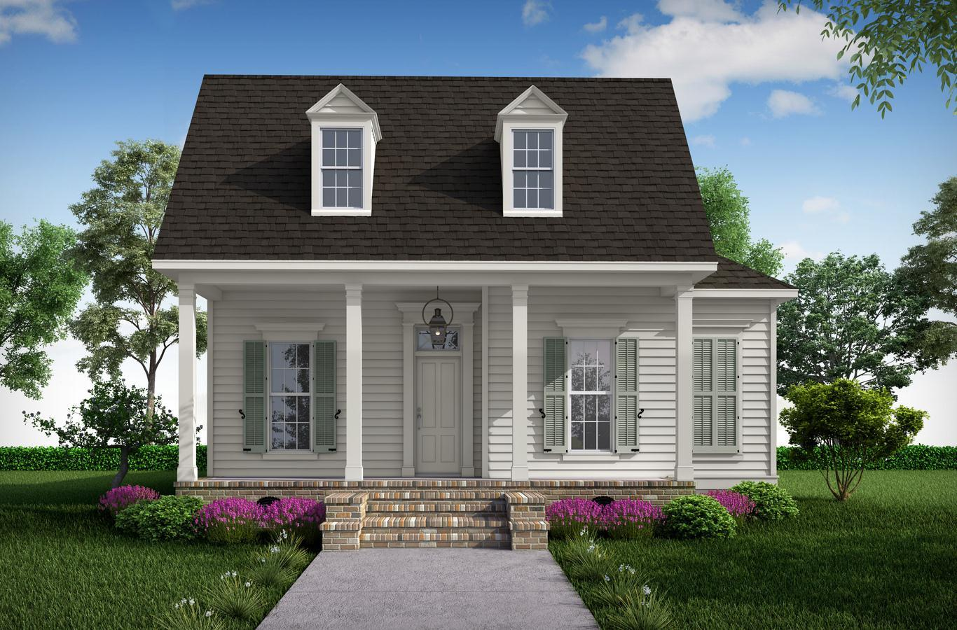 Exterior featured in the Laura By Highland Homes in New Orleans, LA