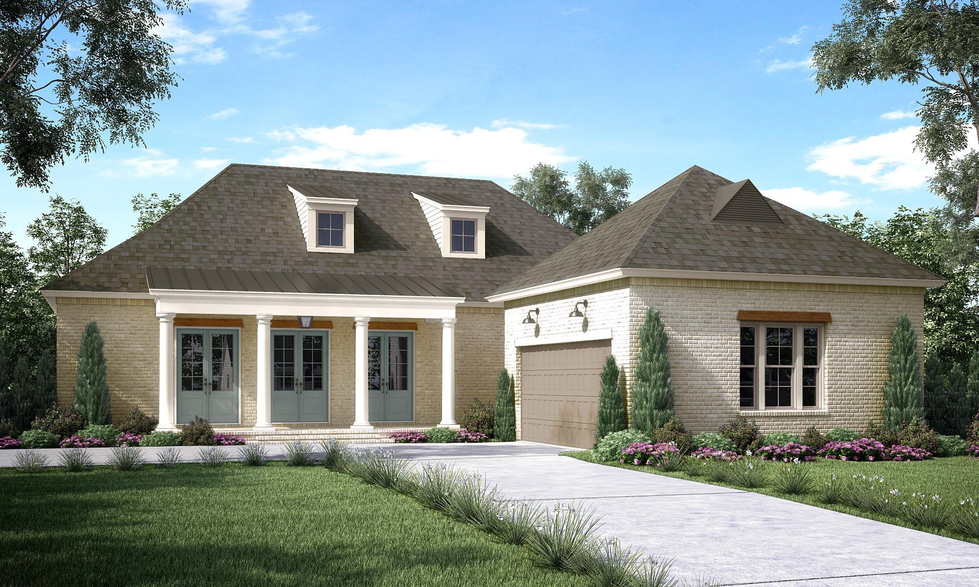 Exterior featured in the Oakmont By Highland Homes in New Orleans, LA