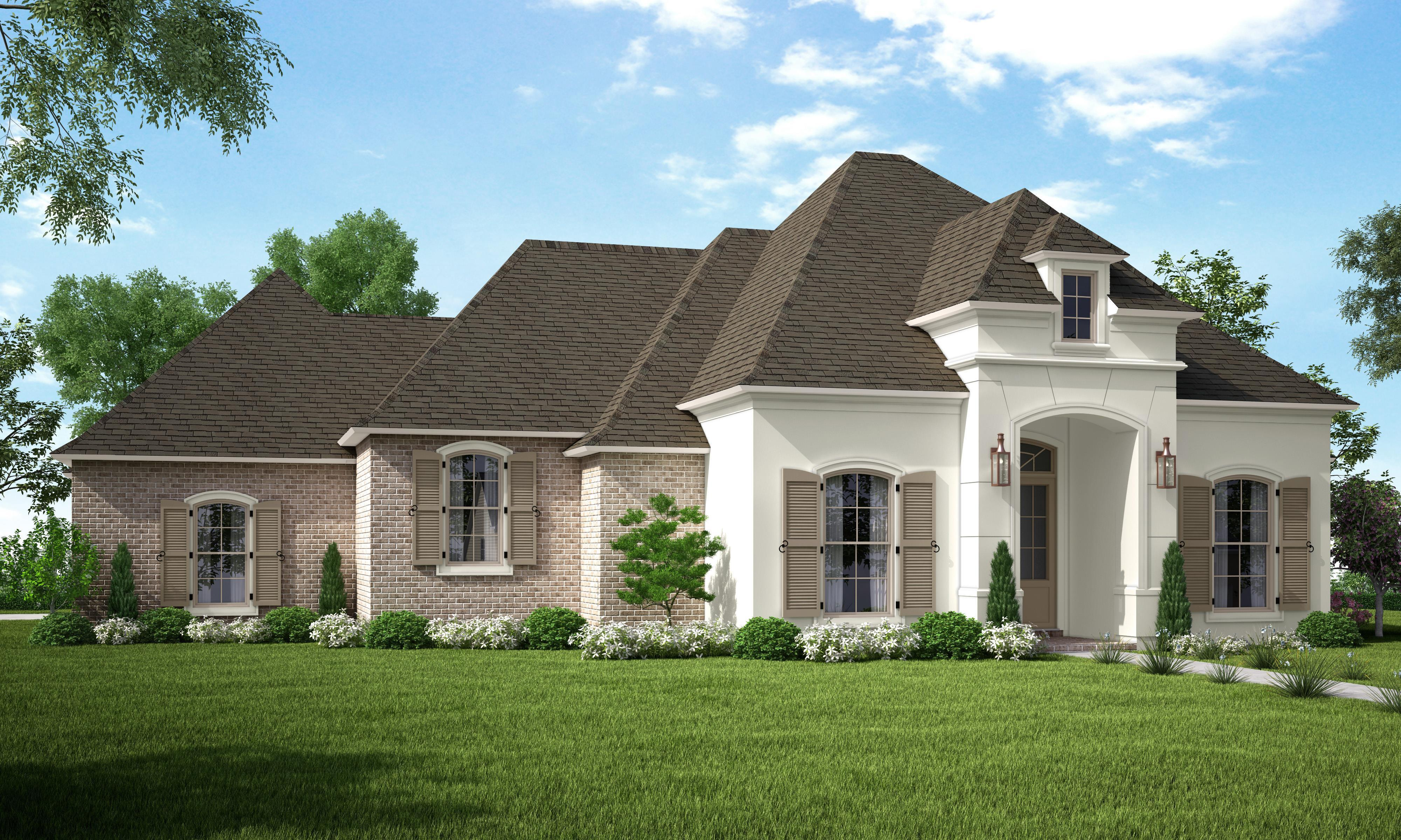 Exterior featured in the Camille By Highland Homes in New Orleans, LA