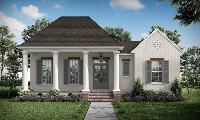 Exterior featured in the Fountainbleau (3 Bed) By Highland Homes in New Orleans, LA