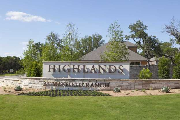Highlands at Mayfield Ranch: 50ft. lots,78681