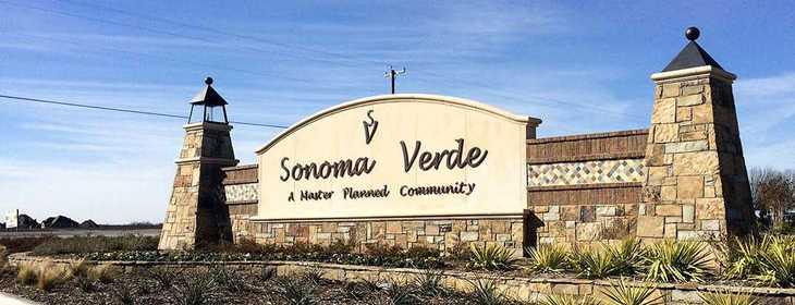 Sonoma Verde: 60ft. lots,75032