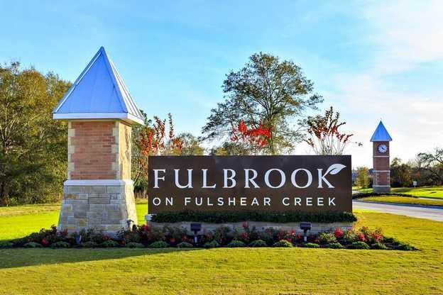 Fulbrook on Fulshear Creek: 60ft. lots,77441