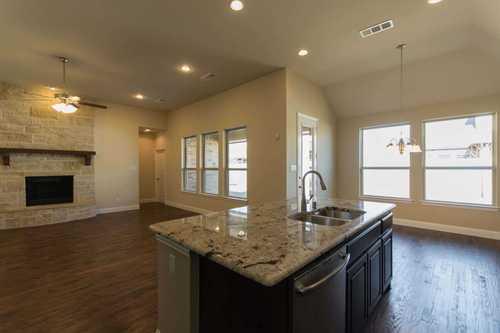 Kitchen-in-Plan 203-at-Lakeside at Tessera on Lake Travis: 60ft. lots-in-Lago Vista