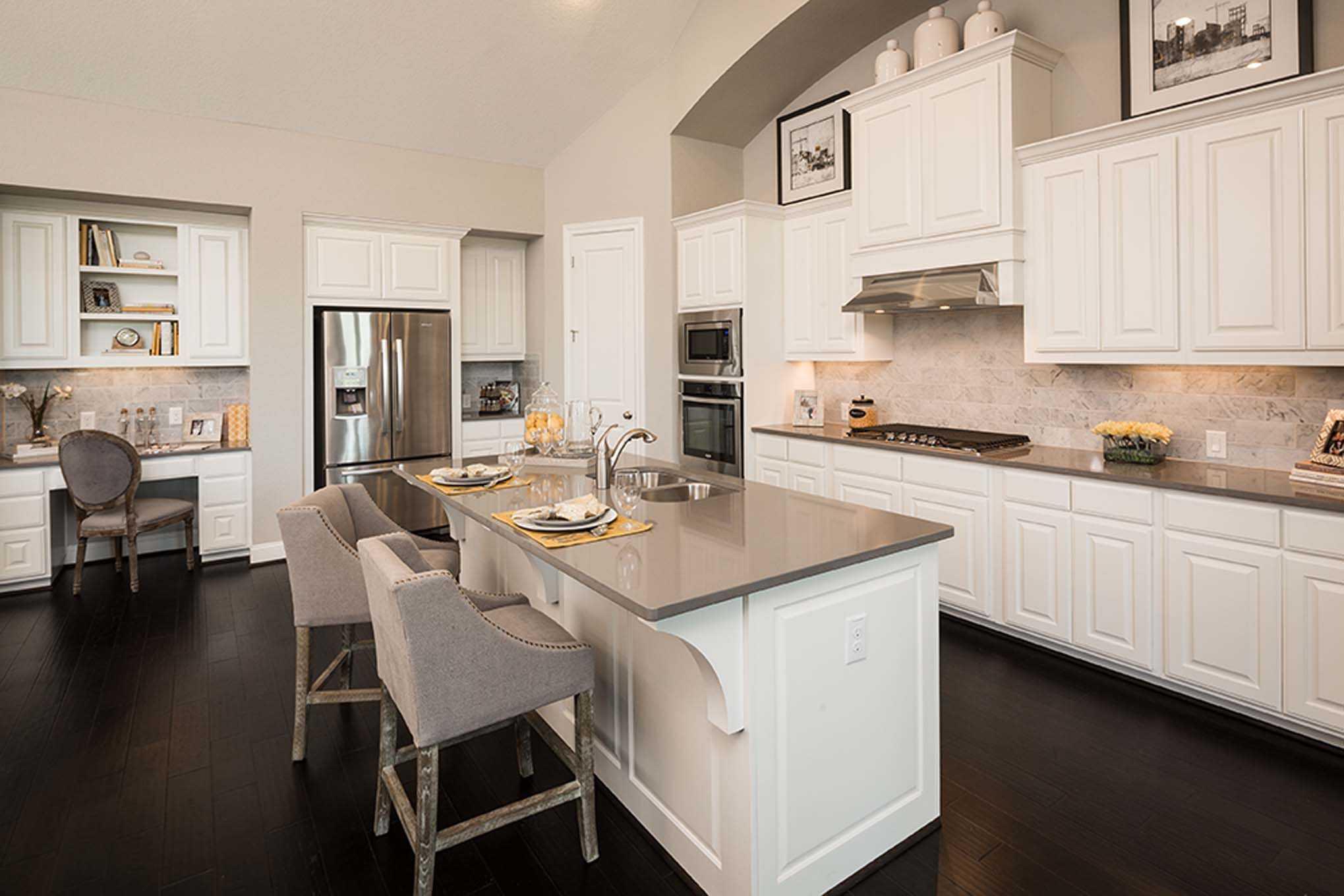 Kitchen-in-Plan 262-at-Star Trail: 86ft. lots-in-Prosper