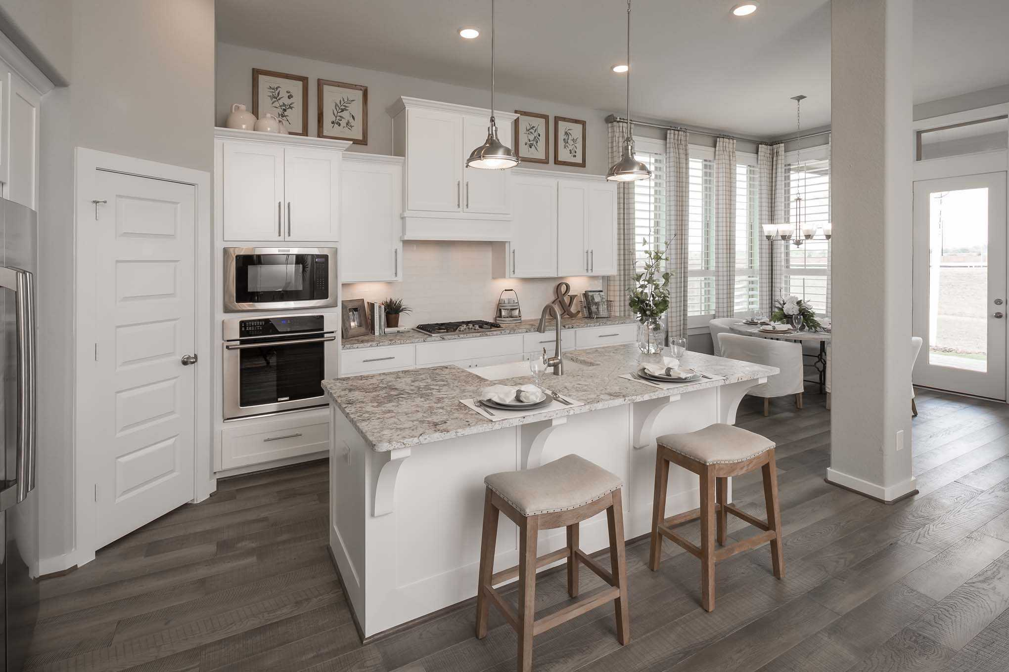 Kitchen-in-Plan 539-at-Lakeside at Tessera on Lake Travis: 60ft. lots-in-Lago Vista