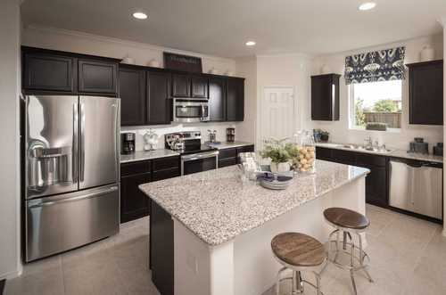 Kitchen-in-Plan Southland-at-Parkside - Celina-in-Celina