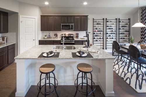 Kitchen-in-Plan Fairhall-at-Devonshire: 60ft. lots-in-Forney
