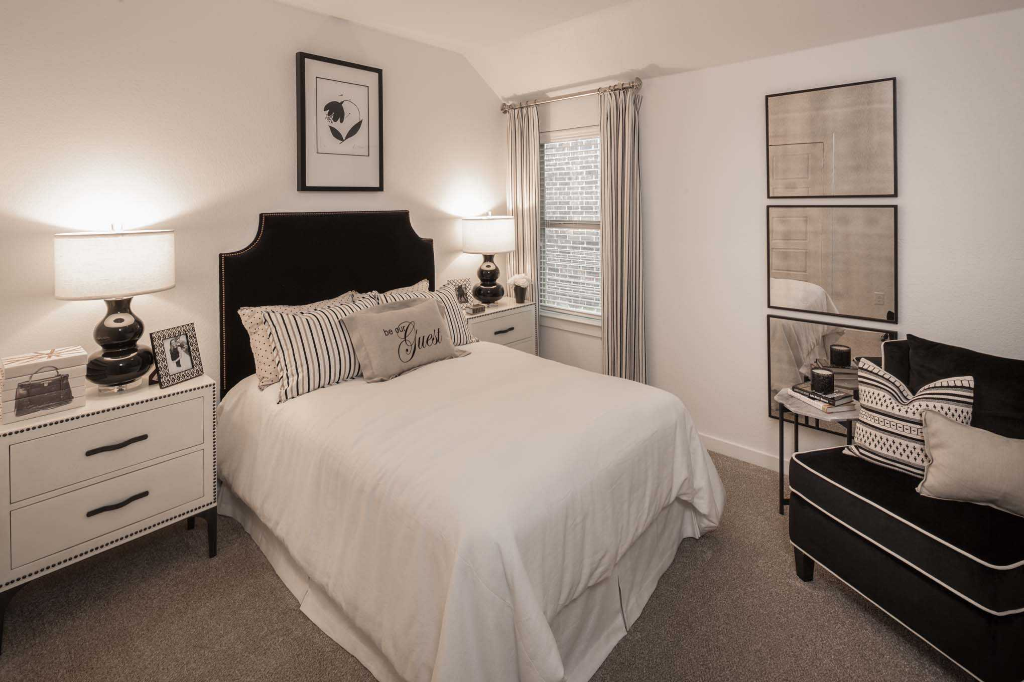 Bedroom featured in the Plan Fairhall By Highland Homes in Sherman-Denison, TX