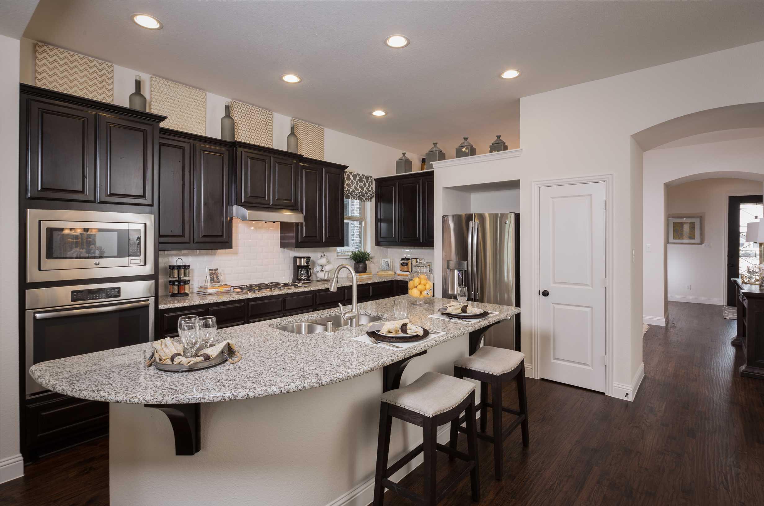 Kitchen-in-Plan 511T-at-Ventana: 55ft. lots-in-Bulverde