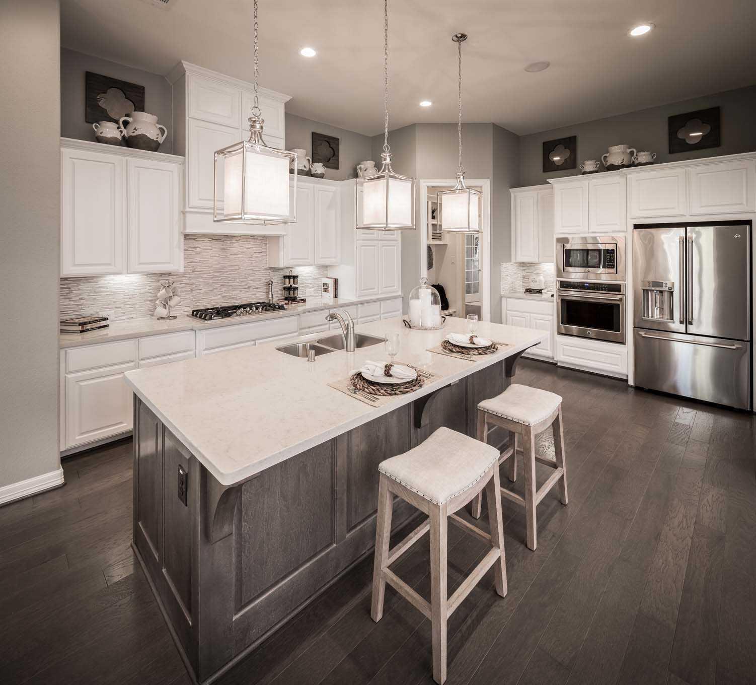 Kitchen-in-Plan 297-at-Star Trail: 86ft. lots-in-Prosper