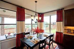 Plan 232 - Sandbrock Ranch: 60ft. lots: Aubrey, Texas - Highland Homes