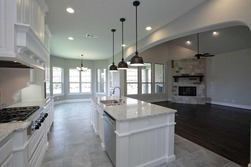 Kitchen-in-Plan 613-at-Star Trail: 86ft. lots-in-Prosper