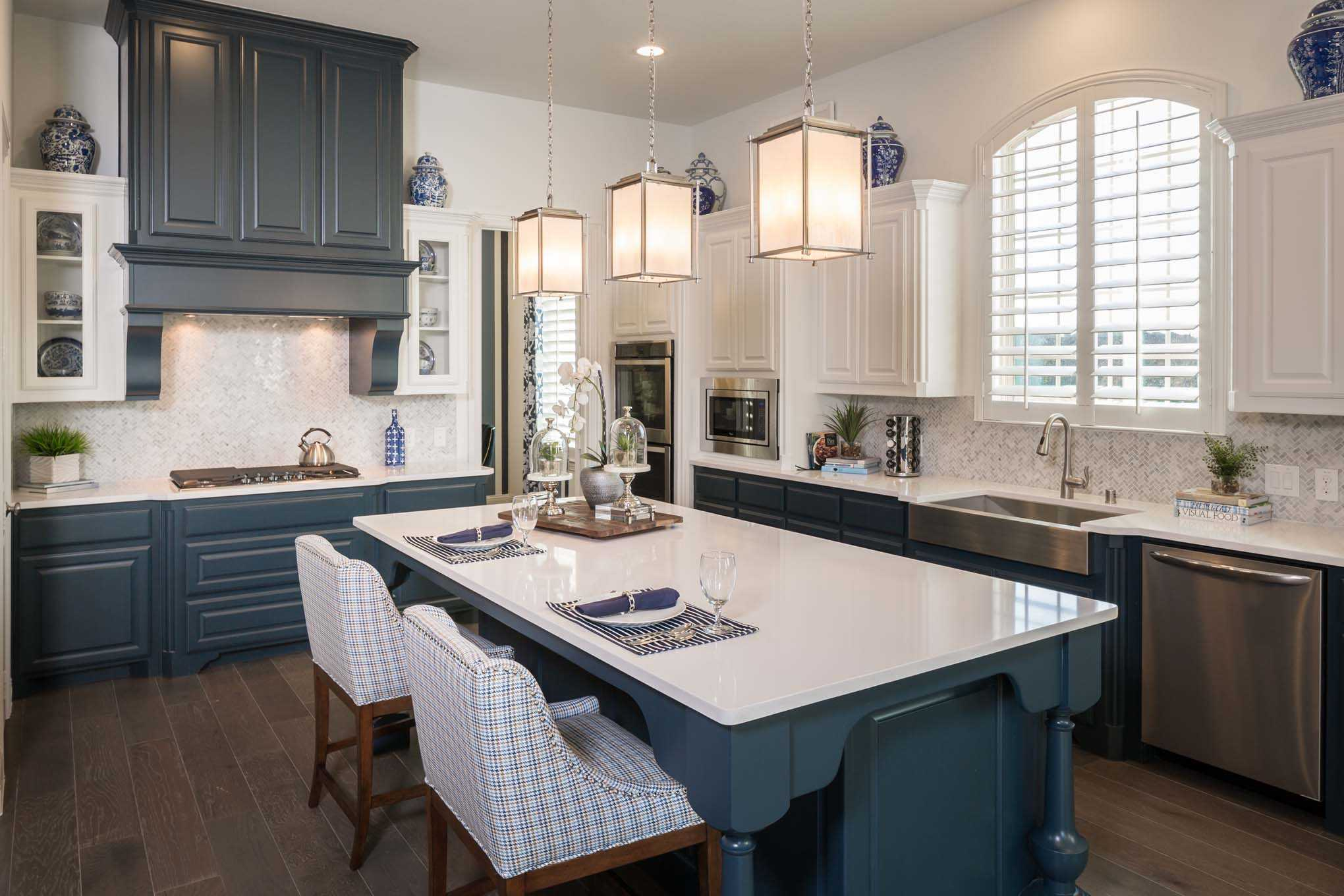 Kitchen-in-Plan 296-at-Mustang Lakes: 74ft. lots-in-Celina