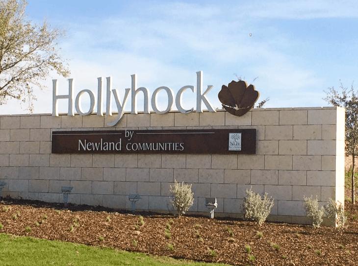 Hollyhock: 74ft. lots,75033