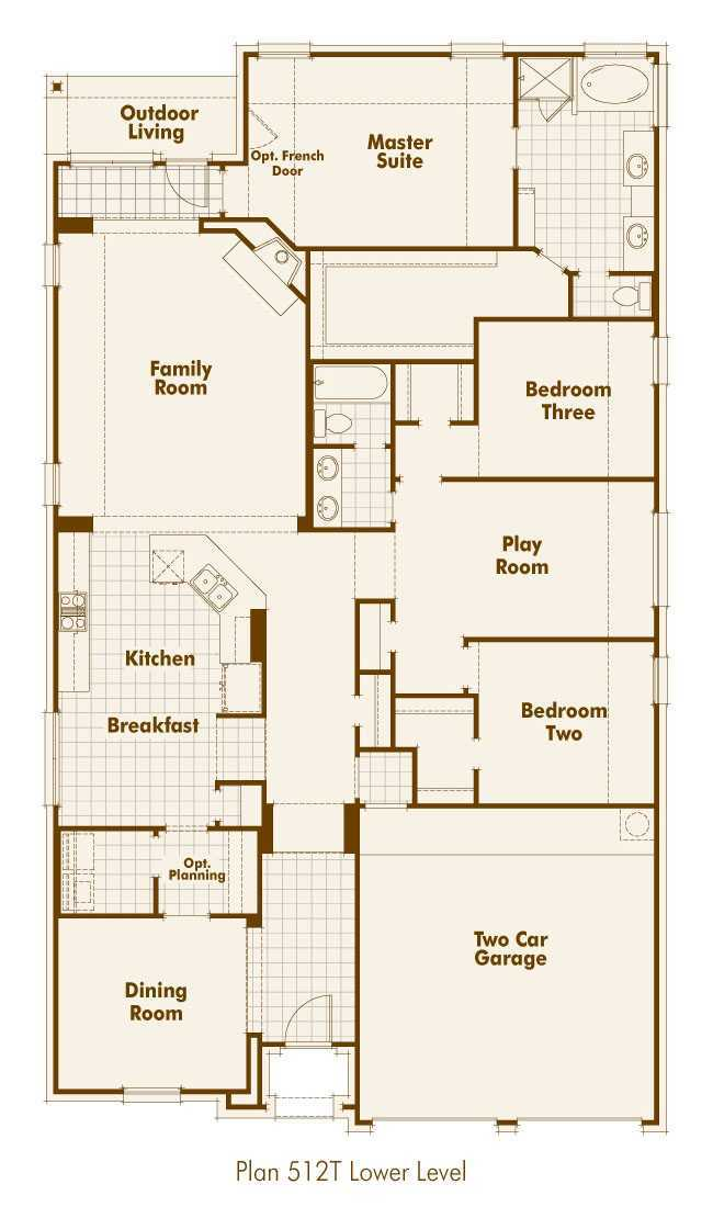 Plan 512t Bulverde Texas 78163 At Johnson Ranch By Highland Homes