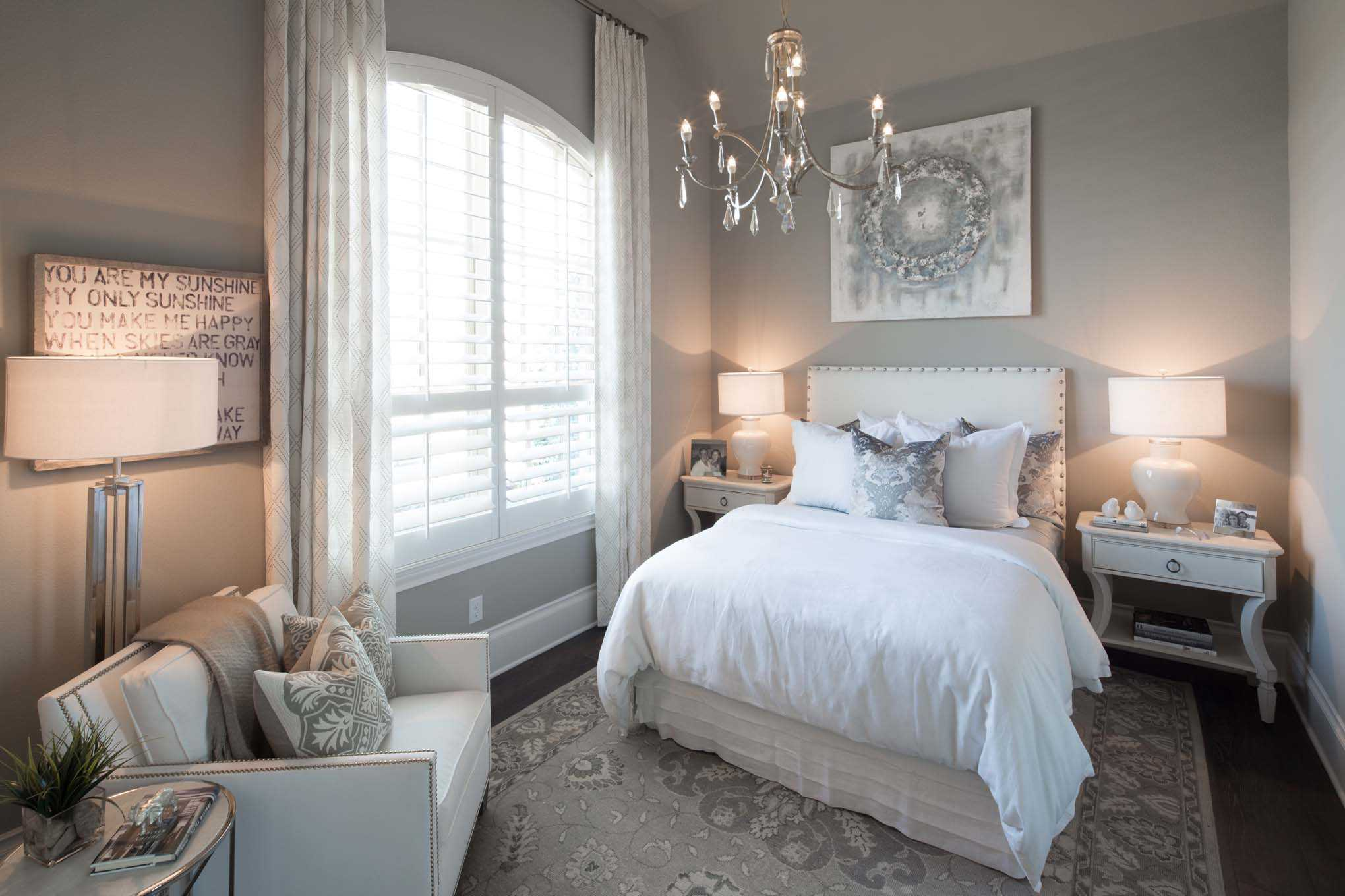 Bedroom featured in the Plan 6721 By Huntington Homes in Dallas, TX