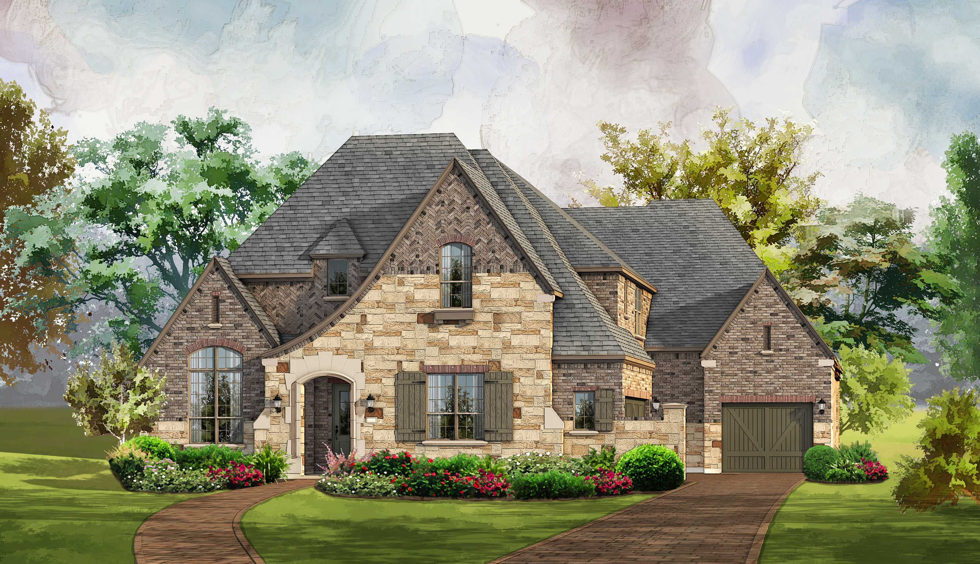 New construction homes and floor plans in frisco tx for New home source dfw