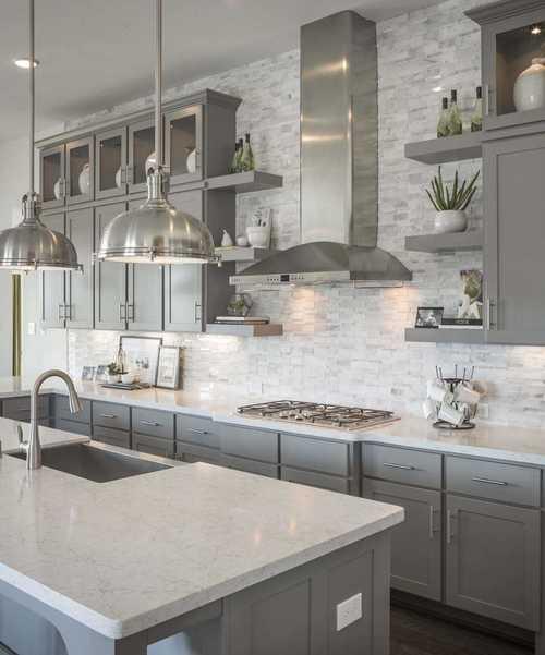 Kitchen-in-Plan 200-at-Jordan Ranch: 65ft. lots-in-Fulshear