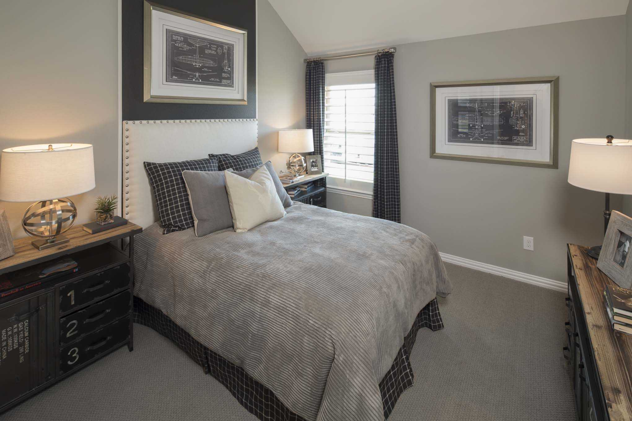 Bedroom featured in the Plan 200 By Highland Homes in Dallas, TX