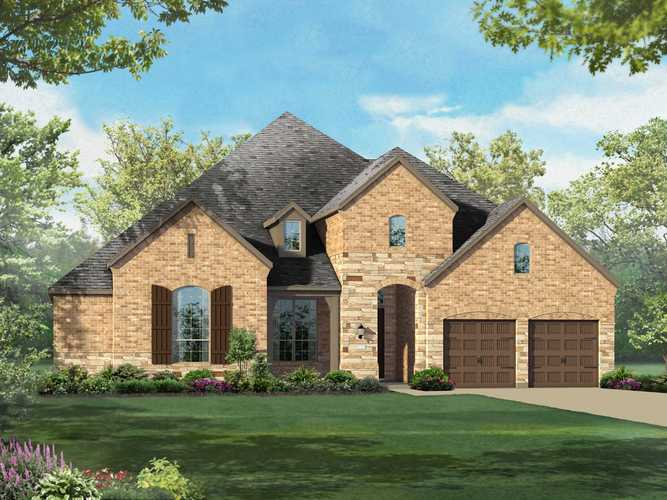 Exterior featured in the Plan 292 By Highland Homes in Dallas, TX