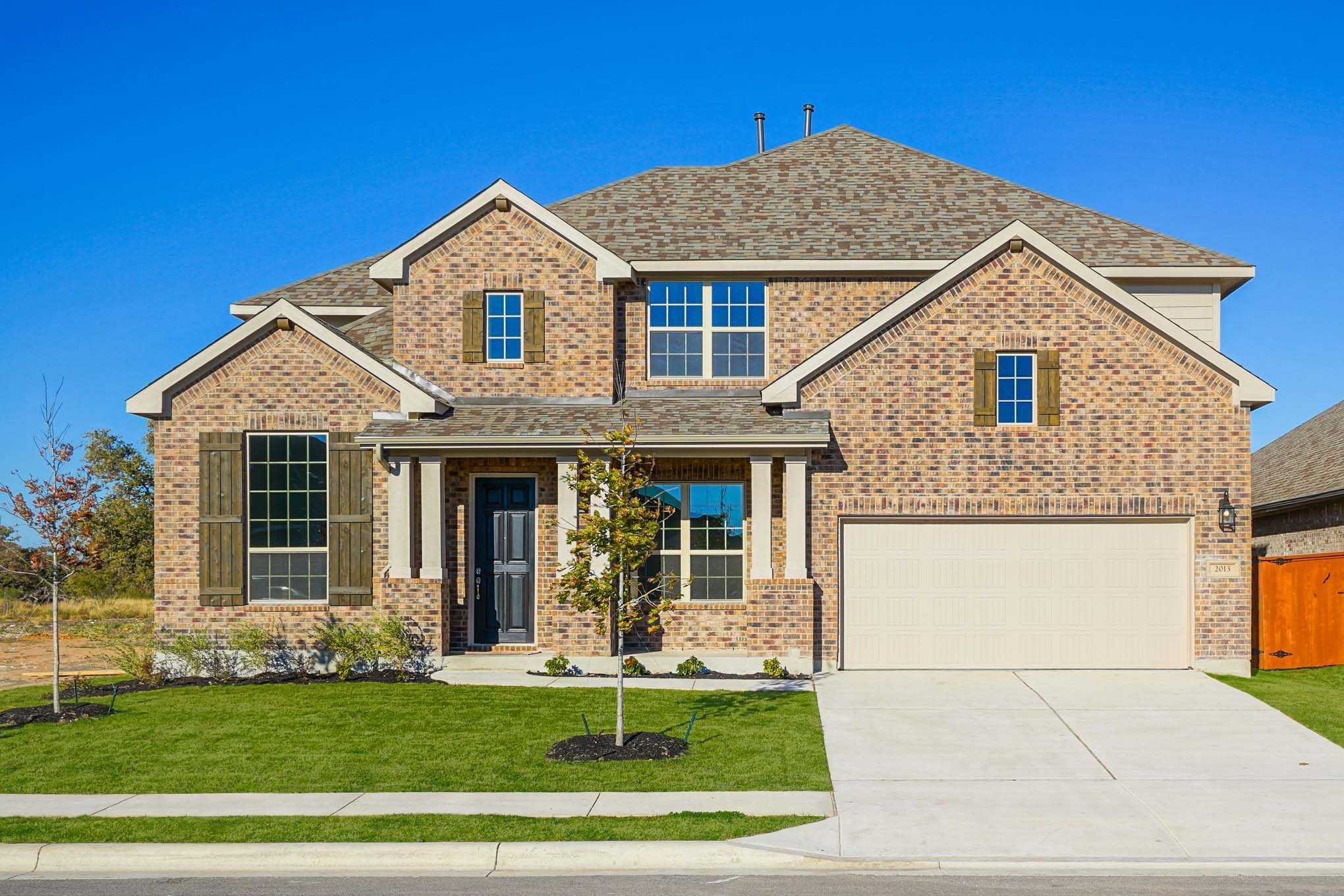 Cost to build a new house in austin - New Homes In Austin Tx New Home Source