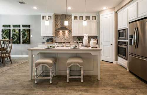 Kitchen-in-Plan 208-at-Elyson: 65ft. lots-in-Katy
