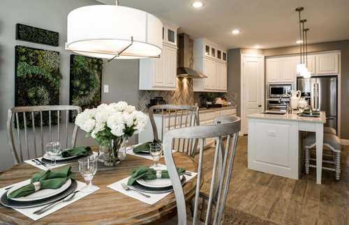 Kitchen-in-Plan 208-at-Jordan Ranch: 65ft. lots-in-Fulshear