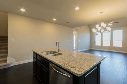 Kitchen-in-Plan 555H-at-Balcones Creek: 55ft. lots-in-Boerne
