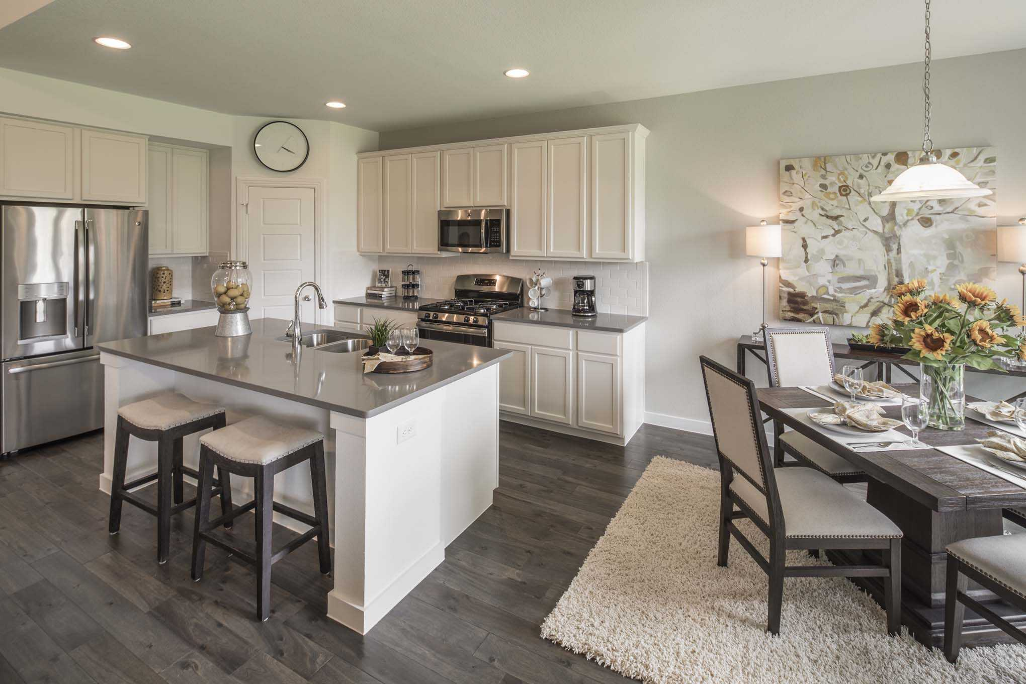 Kitchen featured in the Plan Westbury By Highland Homes in Dallas, TX